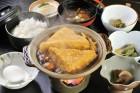 白山堅豆腐すきやき膳